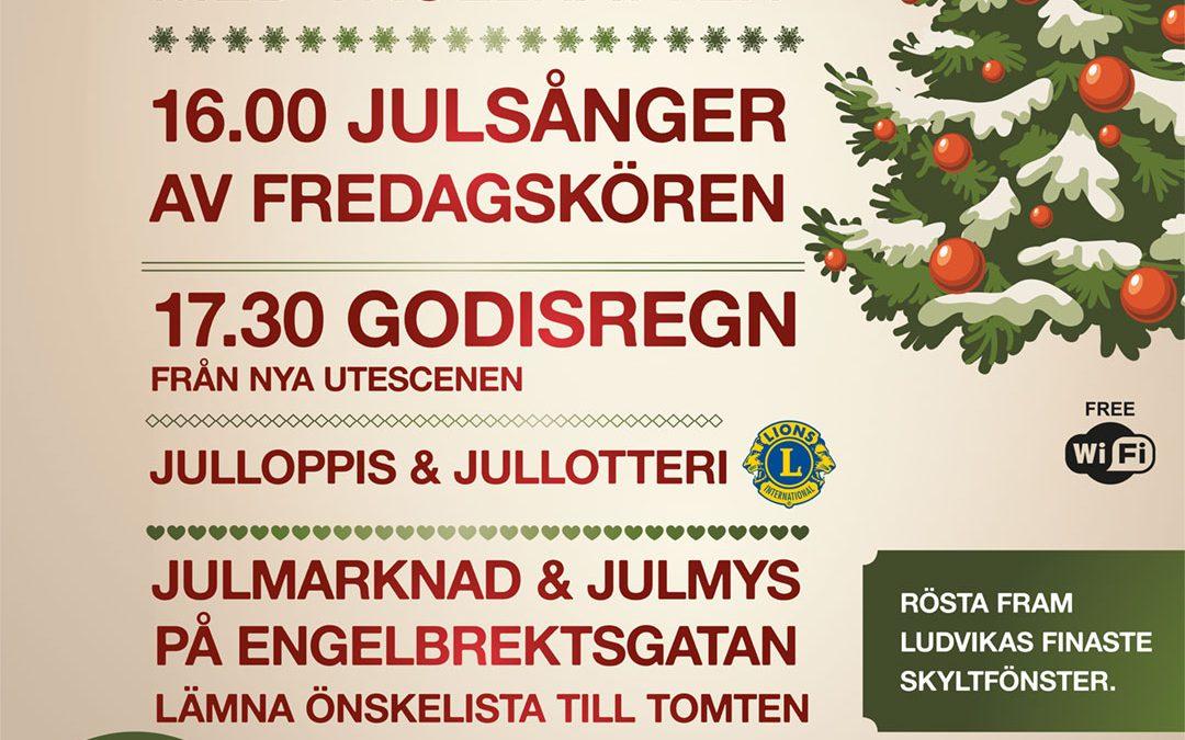Skyltsöndag 2 december