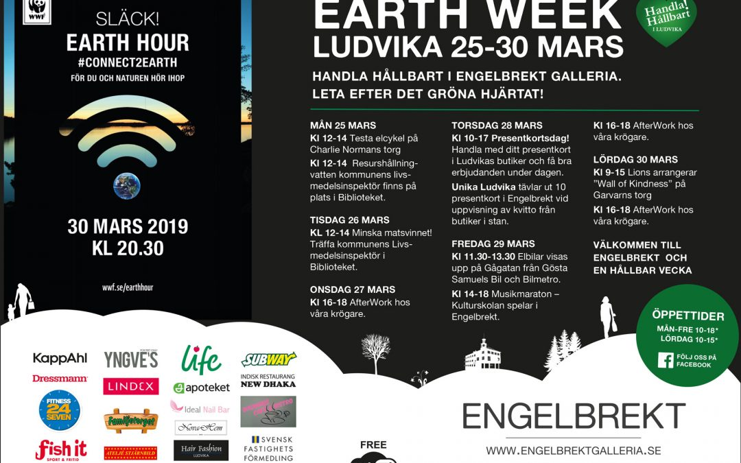 Earth Week 25-30 mars