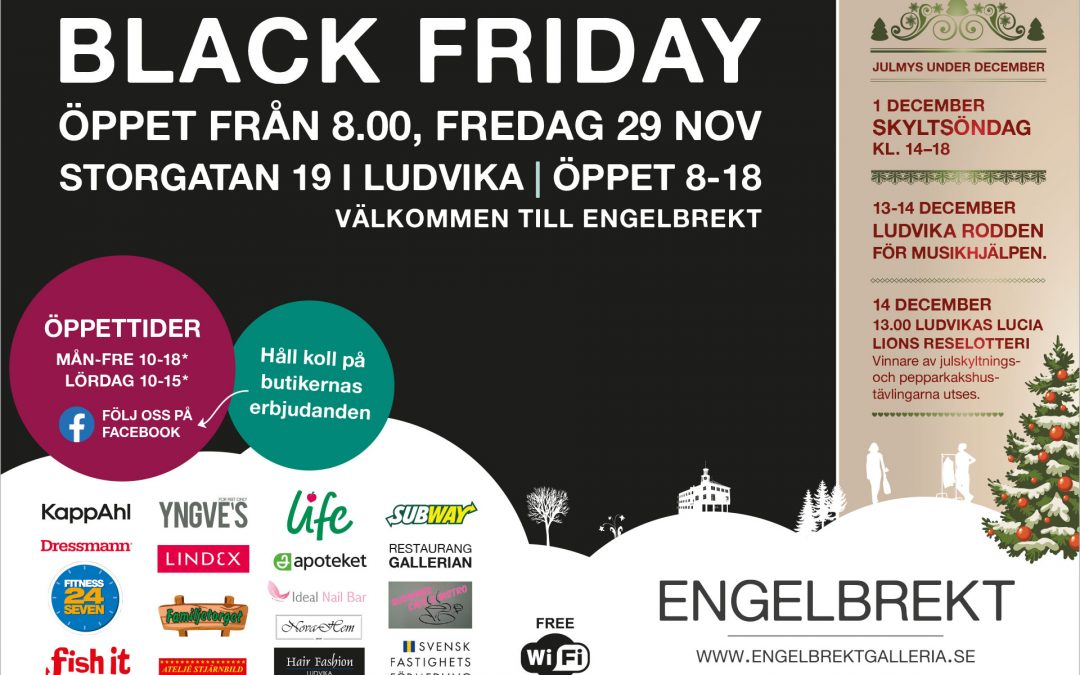 Black Friday 29 nov 2019