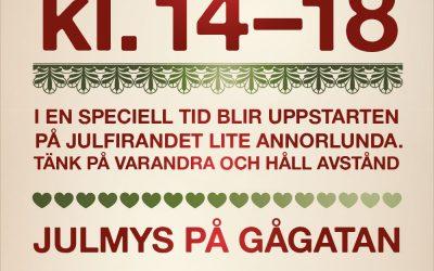 Skyltsöndag 29 november